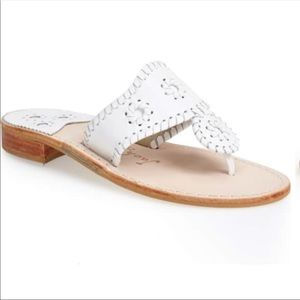 Jack Rogers white summer sandals size 9